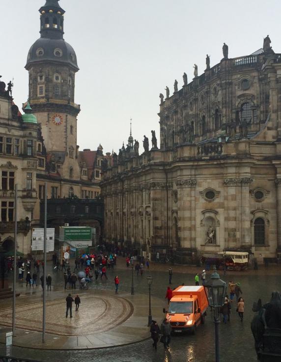 The classic Dresden Altstadt