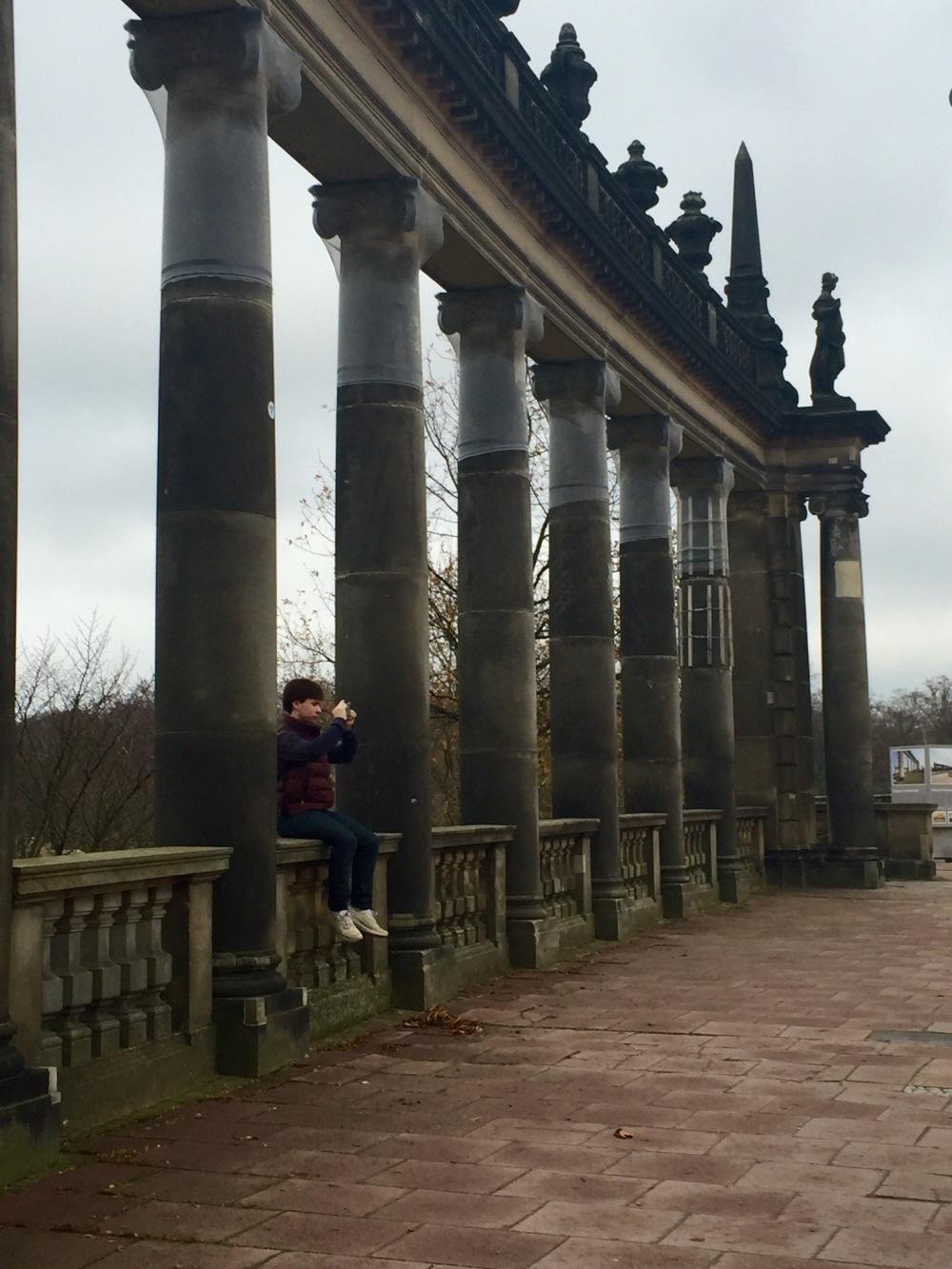 Entering Potsdam!