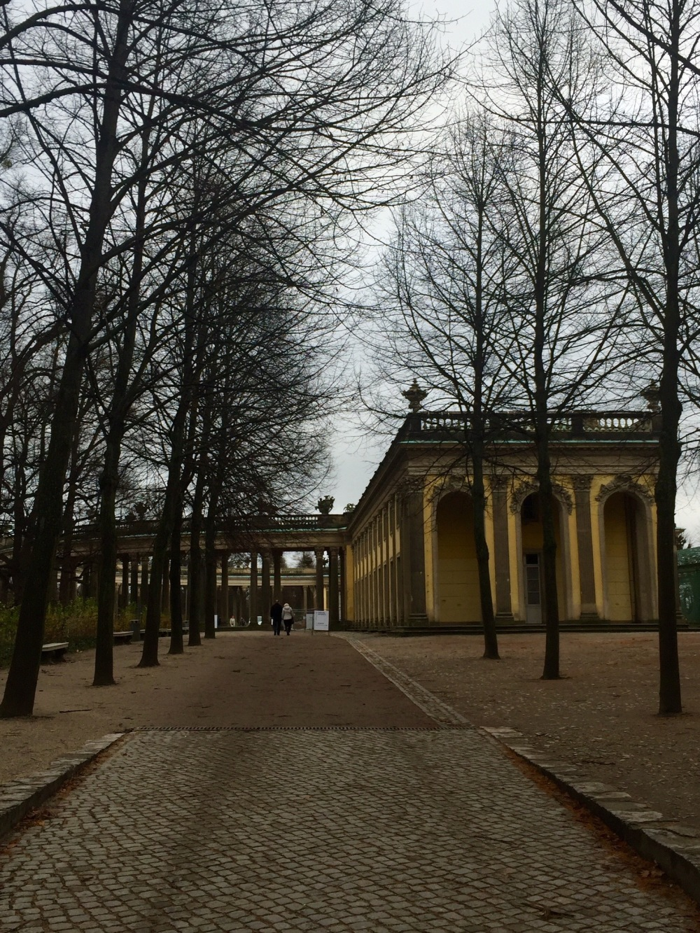 Wandering around Potsdam (And it was chilly!)