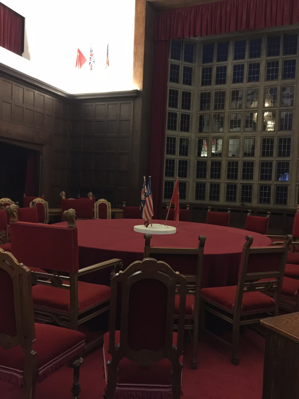 The room where Roosevelt, Churchill and Stalin met!