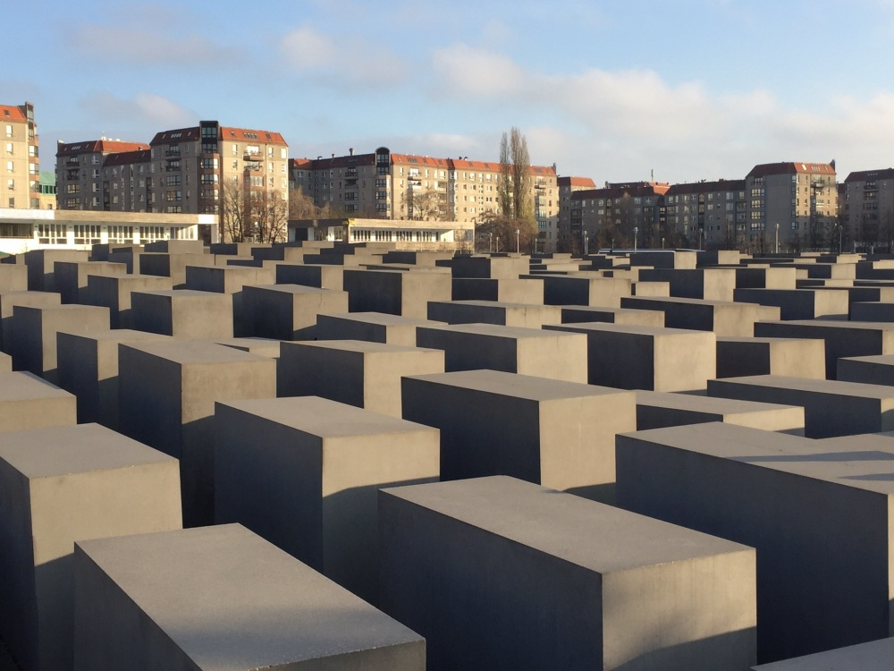 The Holocaust Memorial in all of its glory