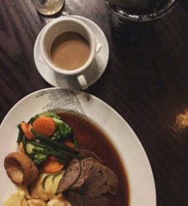 Sunday Roast at the Hoop and Toy