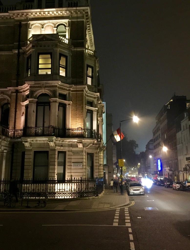 Darktime wanderings continue in Mayfair