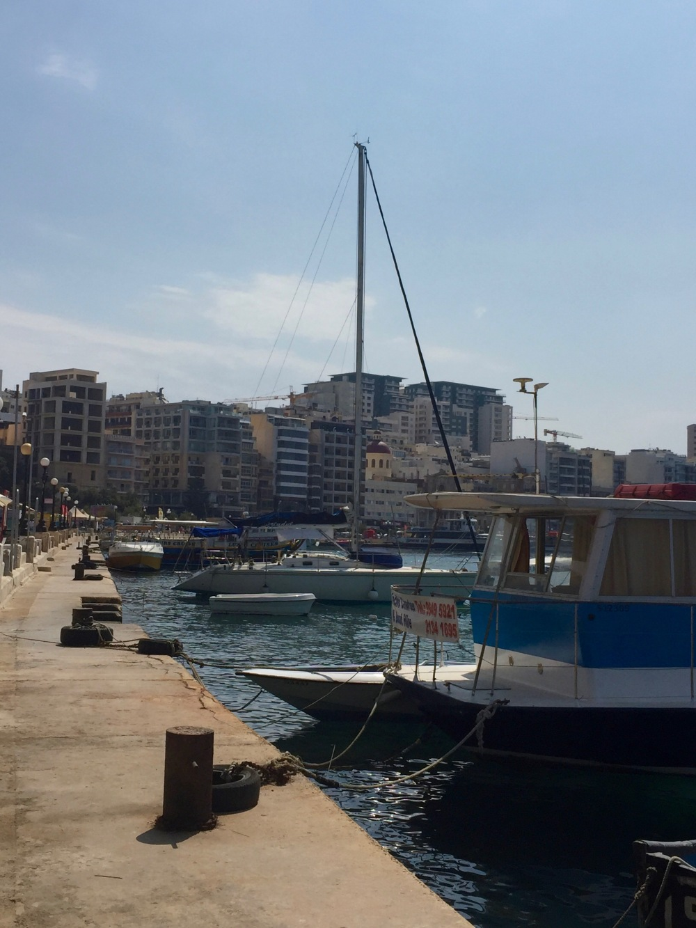Seaside ports