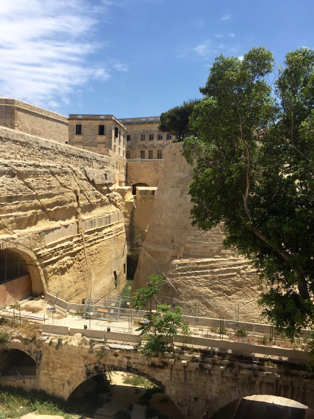 Meandering around Valletta