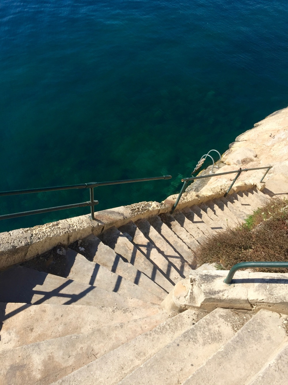 Winding stairways that lead into the sea? You're trying to kill me.
