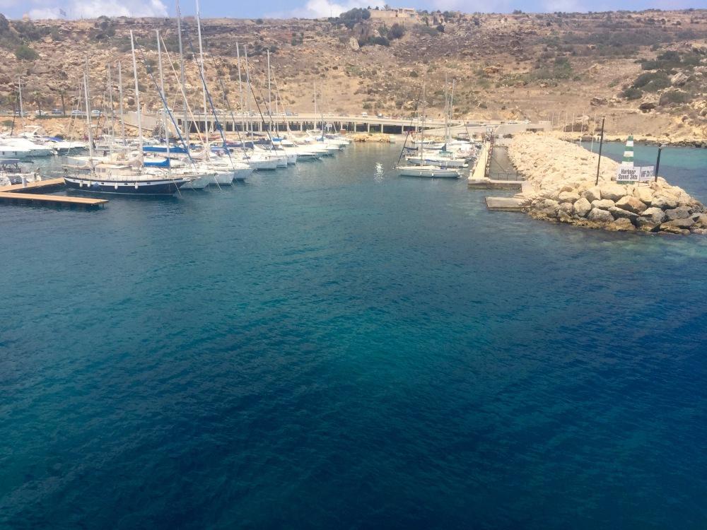 Passing into Gozo