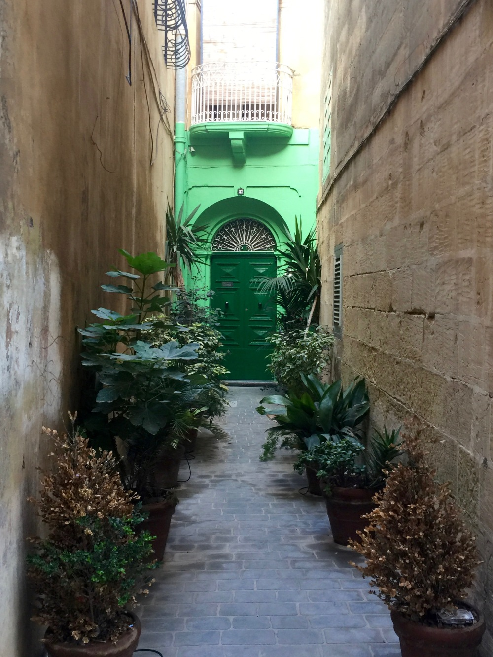Door to nowhere? Or just a shortcut back to Malta?